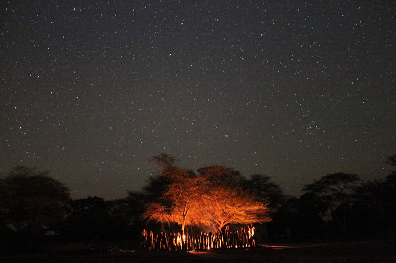 Camp-Mosambik-Sterne