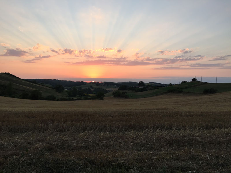Landschaft-Südfrankreich